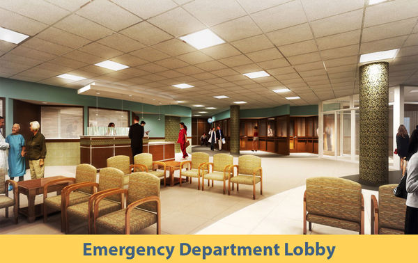 Emergency Deptartment Lobby