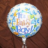 """It's a Boy"" Mylar Balloon"