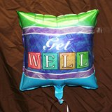 """Get Well"" Mylar Balloon"