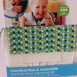 Baby chemical-free & reuseable hand & face cleaning kit-ecloth